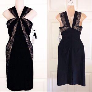 NWT ADRIANNA PAPELL Midi Dress.